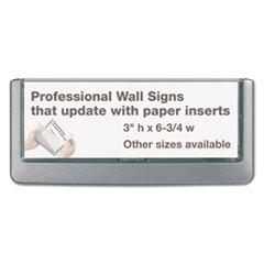 DBL497637 - Durable® Click Sign Holder For Interior Walls