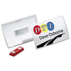 DBL821519 - Durable® Click-Fold® Convex Name Badge Holders