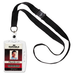 DBL826819 - Durable® ID/Security Card Holder Sets