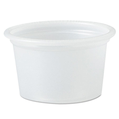 DCC050PC - SOLO® Cup Company Polystyrene Portion Cups