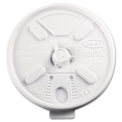 DCC10FTL - Lift n Lock Plastic Hot Cup Lids