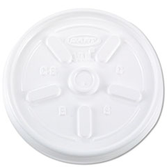 DCC10JL - Vented Plastic Hot Cup Lids