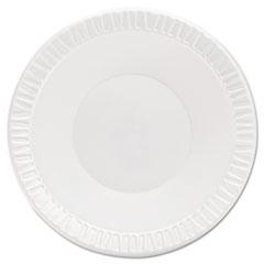DCC12BWWQR - Dart Quiet Classic® Laminated Foam Plastic Plates