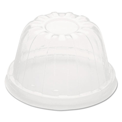 DCC12HDLC - Dart® Dome-Top Sundae/Cold Cup Lids