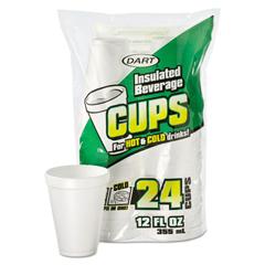 DCC12JP24 - Dart® Small Foam Drink Cups