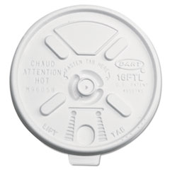 DCC16FTL - Lift n Lock Plastic Hot Cup Lids