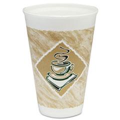 DCC16X16G - Cafe® Design Printed Foam Cups