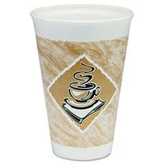 DCC16X16GPK - Dart Caf G™ Foam Hot/Cold Cups