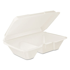 DCC205HT2 - Dart® Foam Hinged Lid Containers