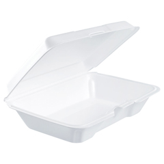 DCC206HT1R - Dart® Foam Hinged Lid Containers