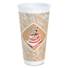 DCC20X16GPK - Dart Caf G™ Foam Hot/Cold Cups