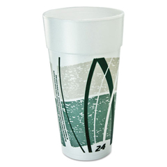 DCC24J16E - Dart® Impulse® Hot/Cold Foam Drinking Cups