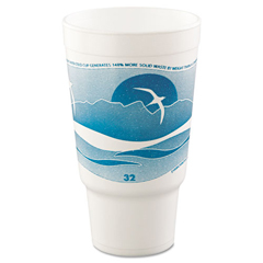 DCC32AJ20H - Dart® Horizon® Hot/Cold Foam Drinking Cups