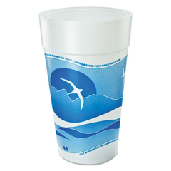 DCC44TJ32H - Dart® Horizon® Hot/Cold Foam Drinking Cups