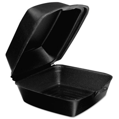DCC60HTB1 - Foam Hinged Lid Containers