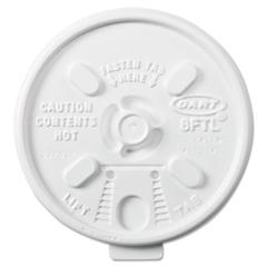 DCC8FTL - Dart® Lift n Lock Plastic Hot Cup Lids