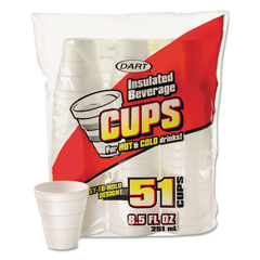 DCC8RP51 - Dart® Foam Drink Cups