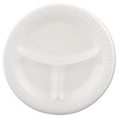 DCC9CPWQR - Dart Quiet Classic® Laminated Foam Plastic Plates