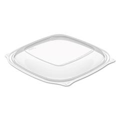 DCCC2464BDL - Dart® PresentaBowls® Pro™ Clear Square Bowl Lids