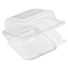 DCCC25UT1 - StayLock® Clear Hinged Lid Containers