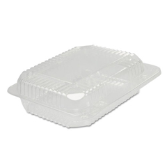 DCCC26UT1 - Dart® StayLock® Clear Hinged Lid Containers - 250 containers.