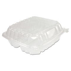DCCC90PST3 - Dart® ClearSeal® Hinged-Lid Plastic Containers