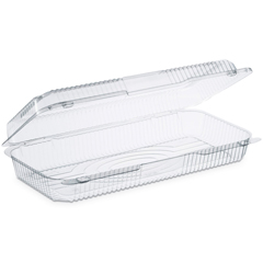 DCCC90UT1 - Dart® StayLock® Clear Hinged Lid Containers
