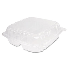 DCCC95PST3 - ClearSeal® Hinged-Lid Plastic Containers