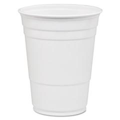 DCCP16W - Dart® Party Plastic Cold Drink Cups