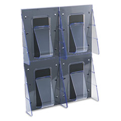 DEF56001 - deflect-o® Stand Tall® Multi-Pocket Wall-Mount Literature Systems