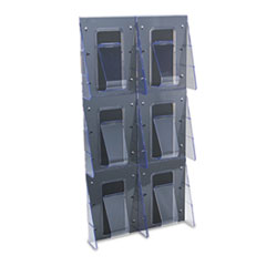 DEF56401 - deflect-o® Stand Tall® Multi-Pocket Wall-Mount Literature Systems