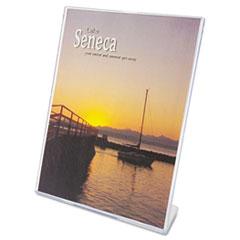 DEF590101 - deflect-o® Slanted Desktop Sign Holder