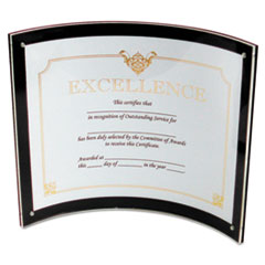 DEF680375 - deflect-o® Superior Image® Magnetic Certificate, Sign or Photo Holder