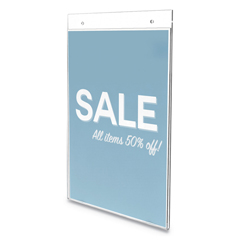 DEF68201VP - deflecto® Classic Image® Wall Sign Holder