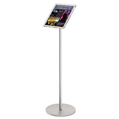 DEF692045 - deflect-o® Floor Sign Display with Rear Literature Pocket