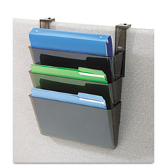 DEF73502RT - deflect-o® Docupocket® Three-Pocket File Partition Set with Brackets