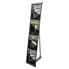 DEF780172 - deflect-o® Mesh Floor Literature Rack