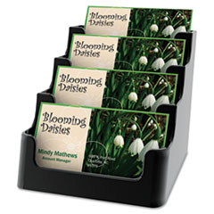 DEF90404 - deflect-o® Recycled Business Card Holders