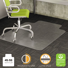 DEFCM13233 - deflect-o® DuraMat® Chair Mat for Low Pile Carpeting