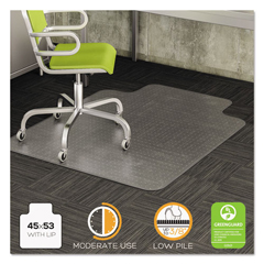 DEFCM13233COM - deflecto® DuraMat® Moderate Use Chair Mat for Low Pile Carpeting