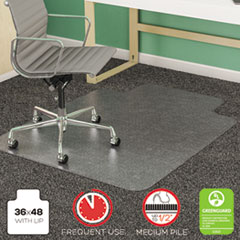 DEFCM14113 - deflect-o® SuperMat™ Chair Mat for Medium Pile Carpet