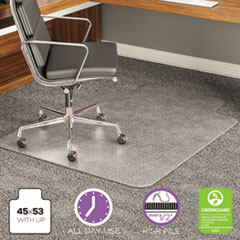 DEFCM17233 - deflect-o® ExecuMat® Chair Mat for Highest Pile/Plush Carpeting