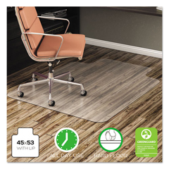 DEFCM21232COM - deflecto® EconoMat® Non-Studded Anytime Use Chairmat for Hard Floors