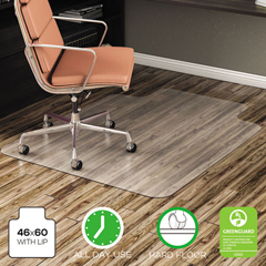 DEFCM2E432F - deflecto® EconoMat® Non-Studded All Day Use Chairmat for Hard Floors