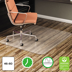 DEFCM2E442FCOM - deflecto® EconoMat® Non-Studded All Day Use Chairmat for Hard Floors