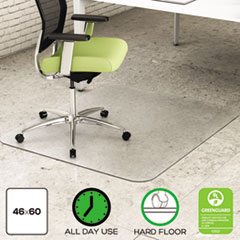 DEFCM2G442FPET - deflect-o® EnvironMat Recycled Anytime Use Chair Mat for Hard Floor