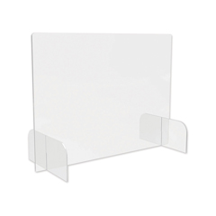 DEFPBCTA3123B - deflecto Counter Top Barrier with Full Shield and Feet