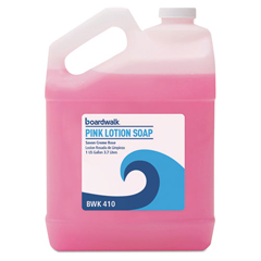 BWK410 - Mild Cleansing Pink Lotion Soap, Gallon Bottle