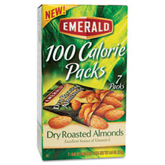 DFD34895 - Emerald Dry Roasted Almonds 100 Calorie Packs