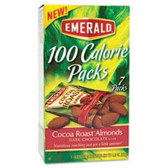 DFD84325 - Emerald Dark Chocolate Cocoa Roast Almonds 100 Calorie Packs